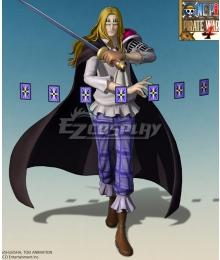 One Piece Basil Hawkins Cosplay Costume