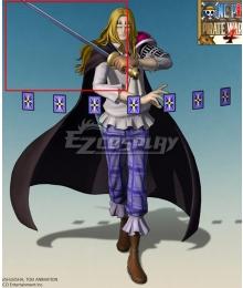 One Piece Basil Hawkins Sword Cosplay Weapon Prop