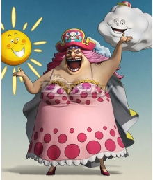 One Piece Big Mom Charlotte Linlin Cosplay Costume