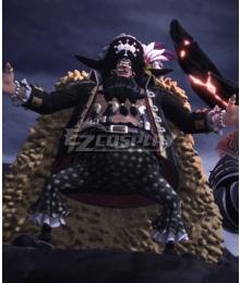 One Piece Blackbeard Marshall·D·Teach Cosplay Costume