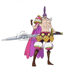 One Piece Charlotte Cracker   Cosplay Costume