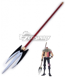 One Piece Charlotte Katakuri Spear Cosplay Weapon Prop