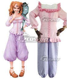 One Piece Charlotte Pudding Daily  Cosplay Costume