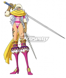 One Piece Charlotte Smoothie   Cosplay Costume