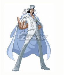 One Piece CP0 Rob Lucci Cosplay Costume