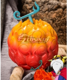 One Piece Devil Fruit Portgas D Ace Sabo Mera Mera no Mi Cosplay Accessory Prop