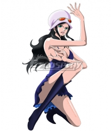 One Piece Dressrosa Nico Robin Cosplay Costume