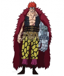 One Piece Eustass Kid Cosplay Costume