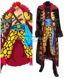 """One Piece Eustass Kid Eustass """"Captain"""" Kid Cosplay Costume"""