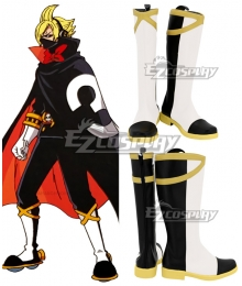 One Piece Germa 66 Sanji Vinsmoke White Shoes Cosplay Boots