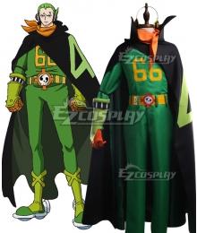 One Piece Germa 66 Vinsmoke Yonji Cosplay Costume