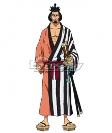One Piece Kinemon  Cosplay Costume