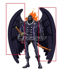 One Piece King Wings Cosplay Accessory Prop
