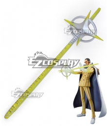 One Piece Kizaru Borsalino Sword Cosplay Weapon Prop