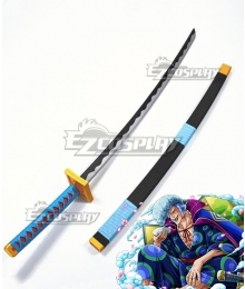 One Piece Kyoshiro Sword Cosplay Weapon Prop