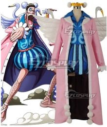One Piece Mr.2 Bon Kurei Bentham Cosplay Costume