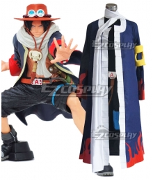 One Piece Portgas D Ace Alabasta Cosplay Costume