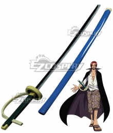 One Piece Red-Haired Shanks Sword Cosplay Weapon Prop