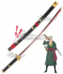 One Piece Roronoa Zoro Enma Sword Scabbard Cosplay Weapon Prop