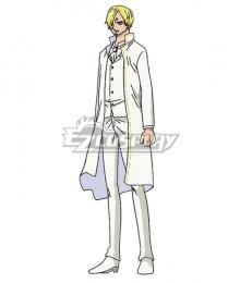 One Piece Sanji Vinsmoke Wedding Dress Cosplay Costume