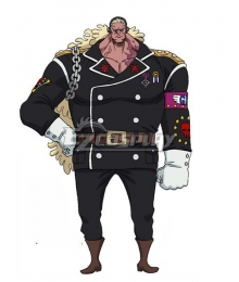 One Piece: Stampede 2019 Movie Douglas Bullet Cosplay Costume