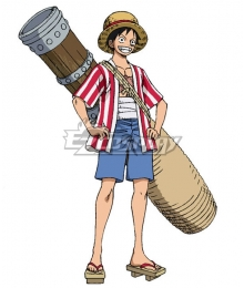 One Piece: Stampede 2019 Movie Monkey D Luffy B Edition Cosplay Costume