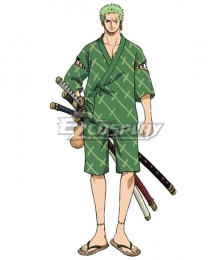 One Piece: Stampede 2019 Movie Roronoa Zoro B Edition Cosplay Costume
