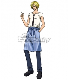 One Piece: Stampede 2019 Movie Sanji Vinsmoke B Edition Cosplay Costume