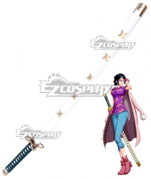 One Piece Tashigi Sword Cosplay Weapon Prop