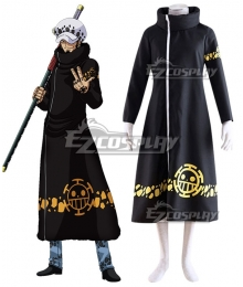 One Piece Trafalgar D Water Law 2Y Cosplay Costume - New Edition