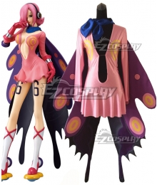 One Piece Vinsmoke Reiju Cosplay Costume