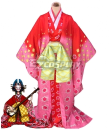 One Piece Wano Country Arc Komurasaki Kimono Cosplay Costume