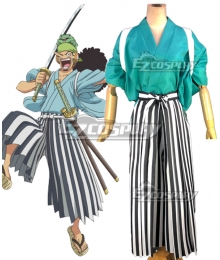 One Piece Wano Country Arc Usopp Kimono Cosplay Costume