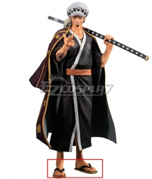 One Piece Wano Country Trafalgar D Water Law Black Cosplay Shoes
