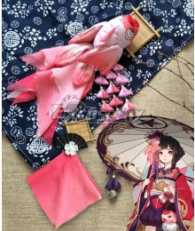 Onmyoji Kagura Two Headwear Cosplay Accessory Prop
