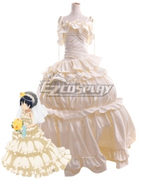 Oreimo My Little Sister Can't Be This Cute Ruri Goko Wedding Cosplay Costume