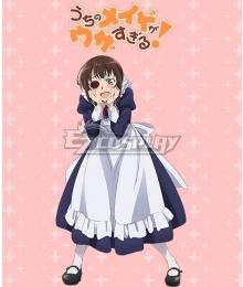 Our Maid is Way Too Annoying Uchi no Meido ga Uzasugiru Tsubame Kamoi Cosplay Costume