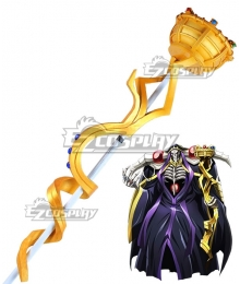Overlord Ainz Ooal Gown Momonga Staff Cosplay Weapon Prop