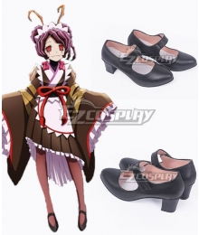 Overlord II Entoma Vasilissa Zeta Black Cosplay Shoes