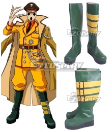 Overlord Pandora's Actor Pandorazu Akuta Green Shoes Cosplay Boots