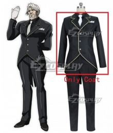 Overlord Sebas Tian Cosplay Costume - Only Coat