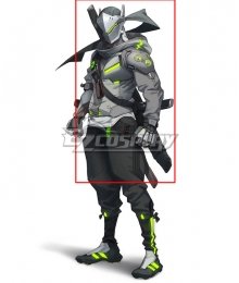 Overwatch 2 Shimada Genji Cosplay Weapon Prop