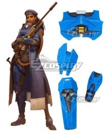 Overwatch OW Ana Amari Captain Amari Armor Cosplay Accessory Prop