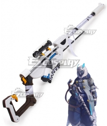 Overwatch OW Ana Amari Snow Owl Skin Gun Cosplay Weapon Prop