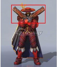 Overwatch OW Anniversary 2020 Reaper Gabriel Reyes Masquerade Gun Cosplay Weapon Prop