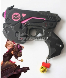 Overwatch OW Black Cat D.Va Dva Hana Song Skin Gun New Cosplay Weapon Prop