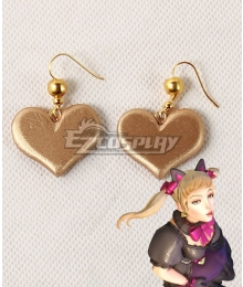 Overwatch OW Black Cat D.Va Dva Hana Song Skin Earrings Cosplay Accessory Prop