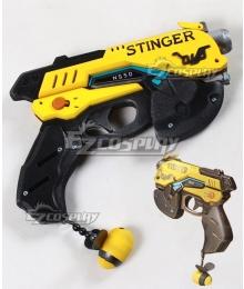 Overwatch OW D.Va DVa Hana Song Bee B.Va Gun Cosplay Weapon Prop
