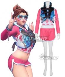 Overwatch OW D.Va DVa Hana Song Waveracer D.VA Cosplay Costume