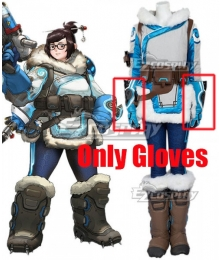 Overwatch OW Dr. Mei Ling Zhou Gloves Cosplay Accessory Prop
